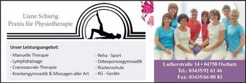 Physiotherapie Liane Schurig